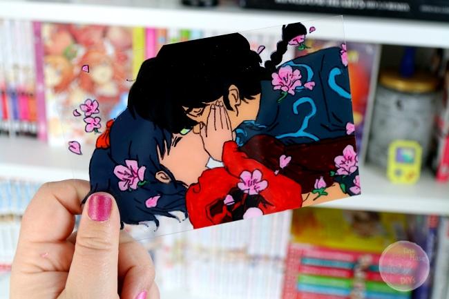 Ranma Anime Glass Painting