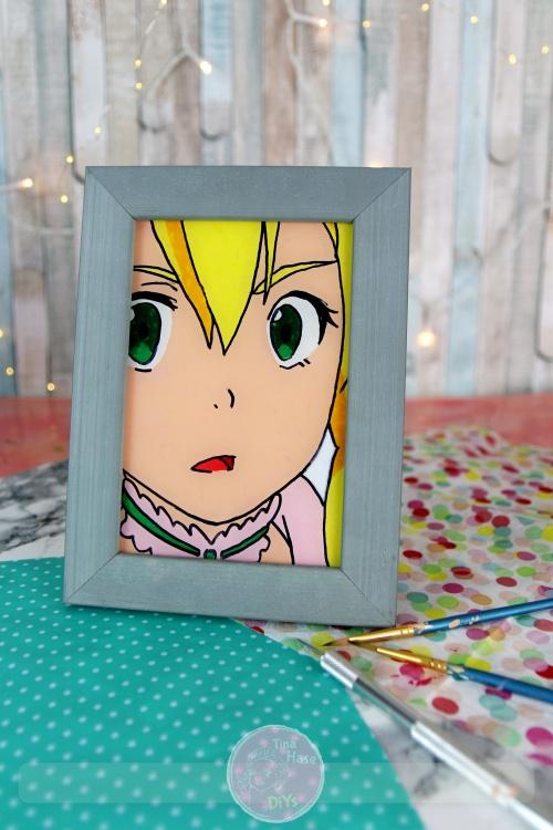 Anime Glass Painting Acrylfarbe