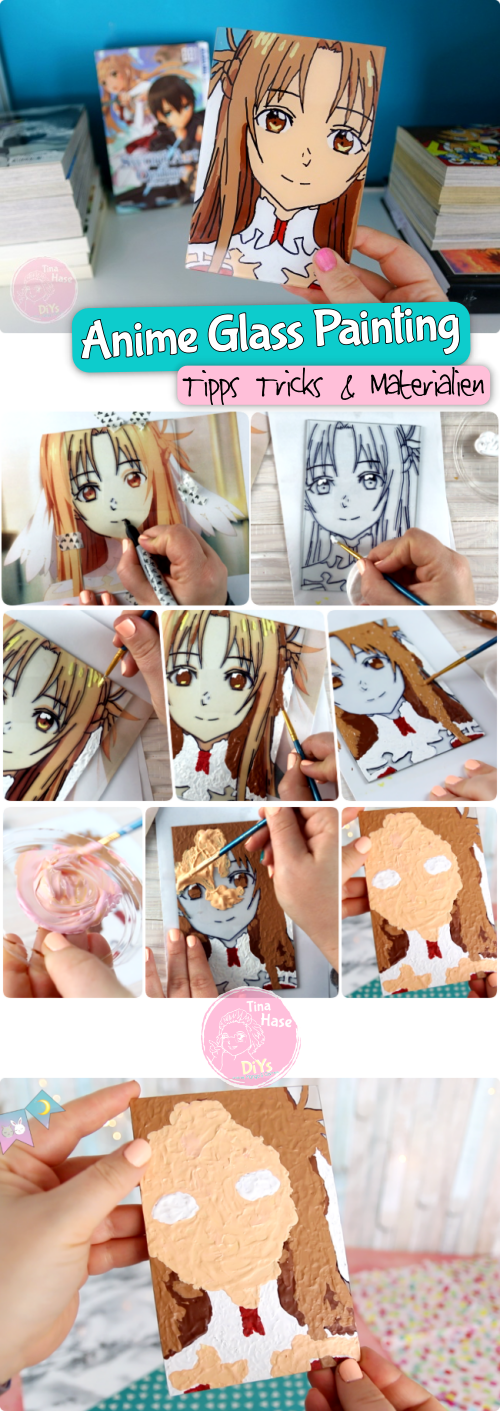 Anime Glass Painting Tutorial Anleitung